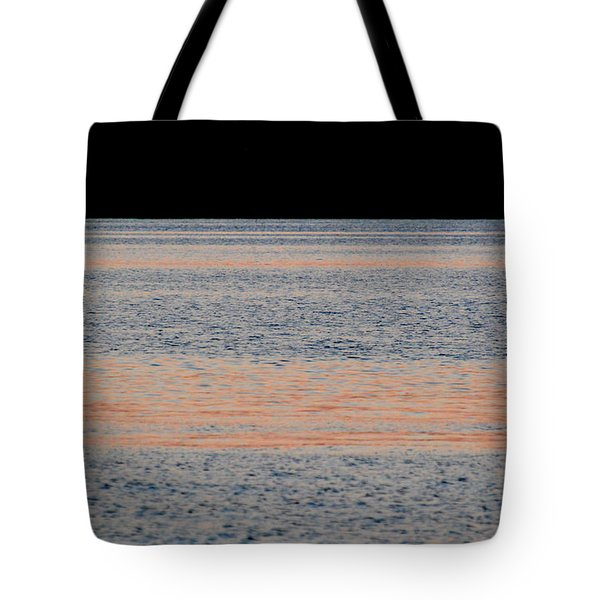 Composition Of Pink Blue Black 2  Tote Bag by Lyle Crump