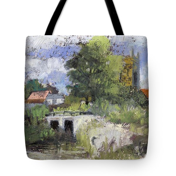 Compton Dando Somerset, After William James Mueller 1845 Tote Bag
