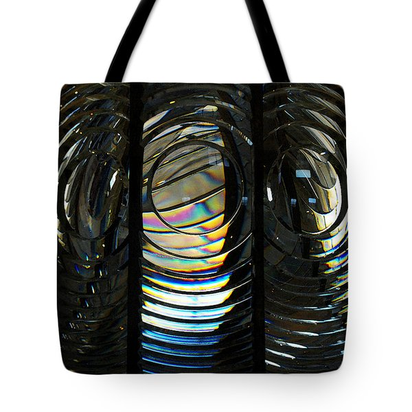 Concentric Glass Prisms - Water Color Tote Bag