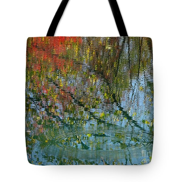 Concentric Tote Bag by Misha Bean