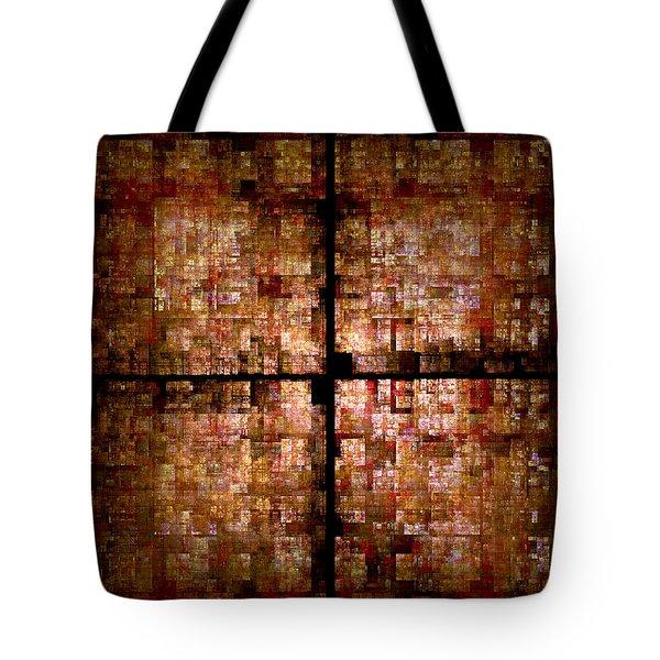 Conceptual Construct Tote Bag