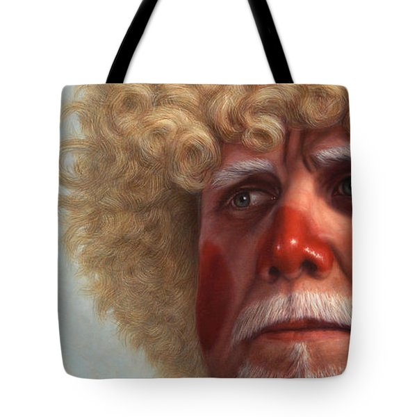 Concerned Tote Bag by James W Johnson