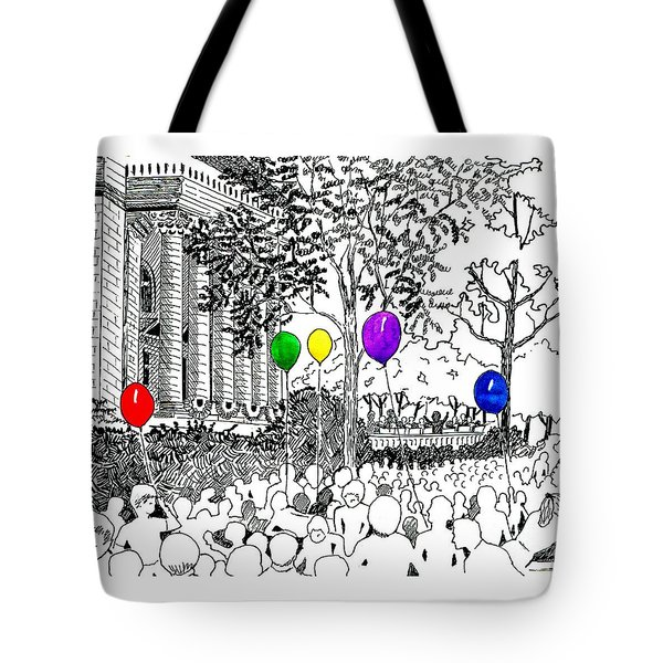 Concert On The Square Tote Bag