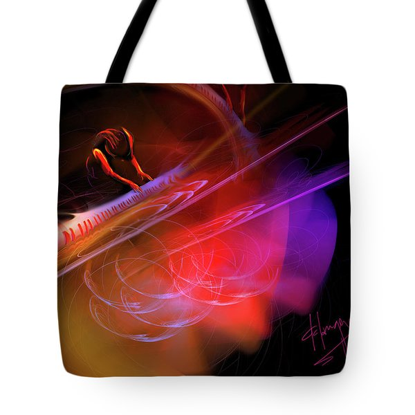 Concerto In Ursa Minor Tote Bag