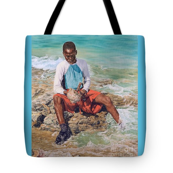 Conch Boy II Tote Bag