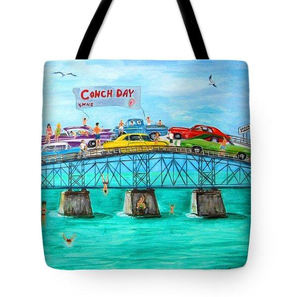 Conch Day Tote Bag