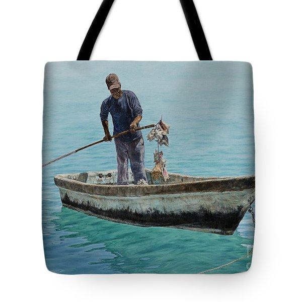 Conch Pearl Tote Bag