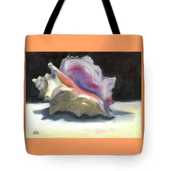 Conch Shell Tote Bag