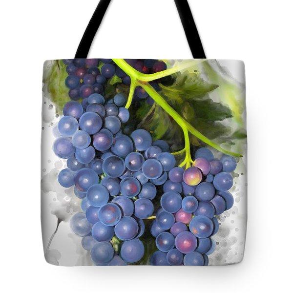 Concord Grape Tote Bag