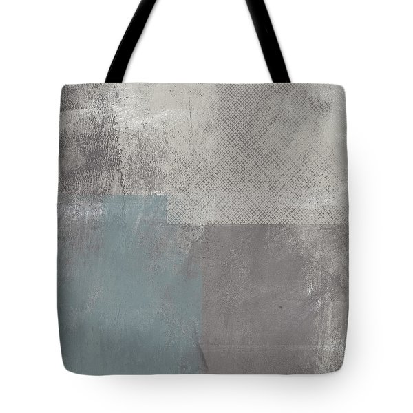 Concrete 3- Contemporary Abstract Art By Linda Woods Tote Bag