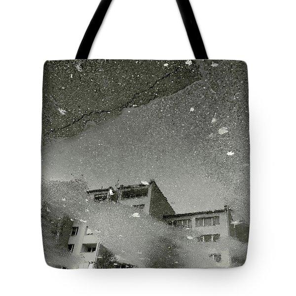 Concrete City Tote Bag