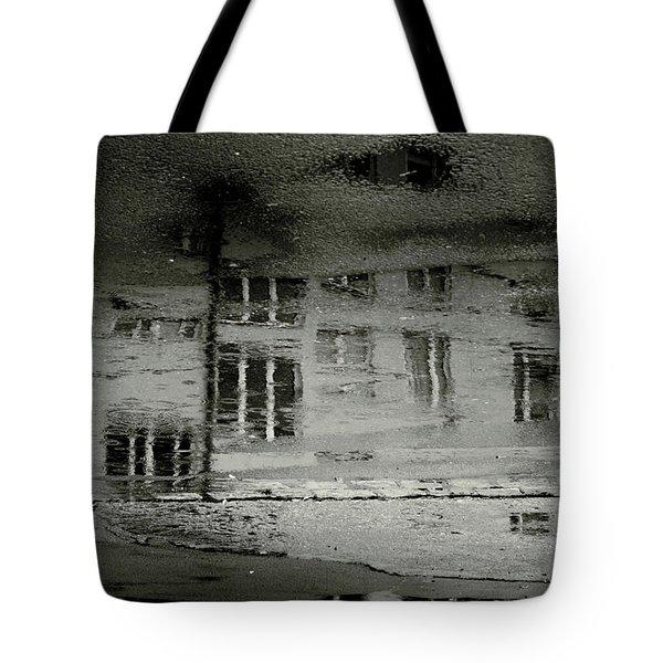 Concrete City II Tote Bag