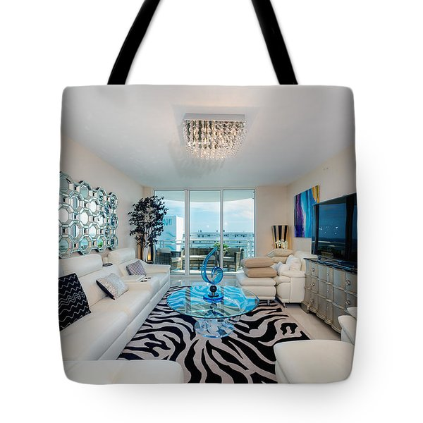 Condo Living Tote Bag
