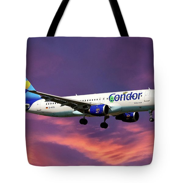 Condor Airbus A320-212 Tote Bag