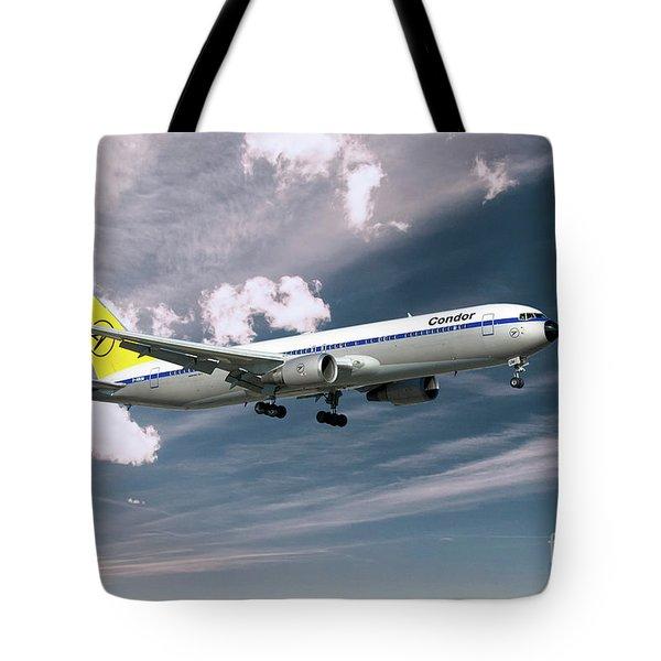 Condor Boeing 767-300  Tote Bag