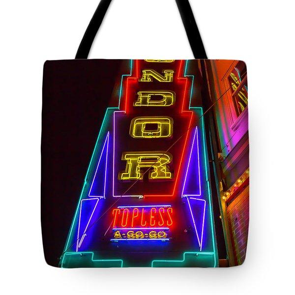 Condor Neon Tote Bag