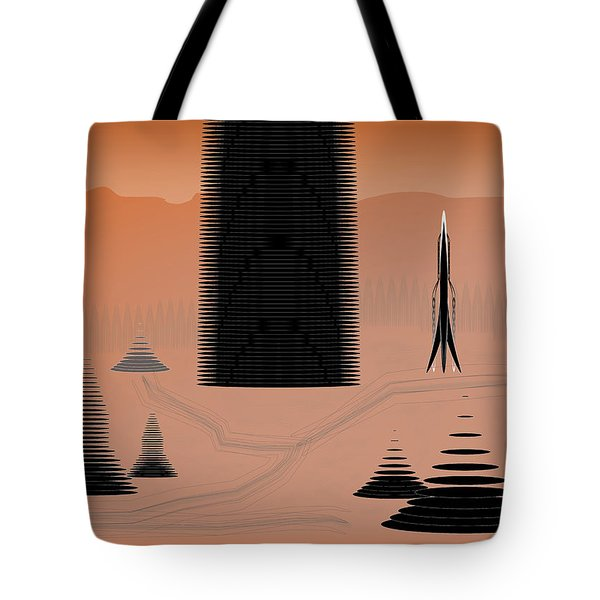 Cone City Tote Bag