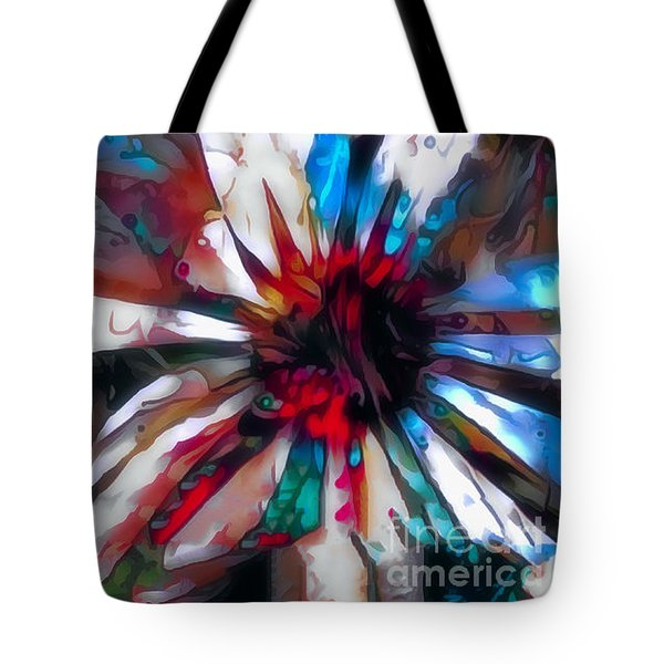 Cone Flower Fantasia I Tote Bag by Jack Torcello