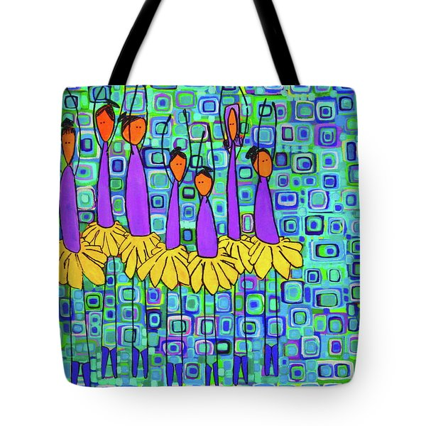 Coneflower Ballet Tote Bag