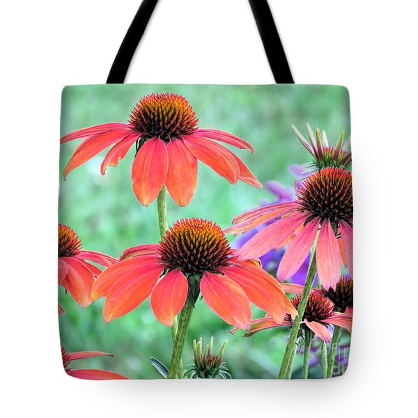 Coneflower Garden Tote Bag