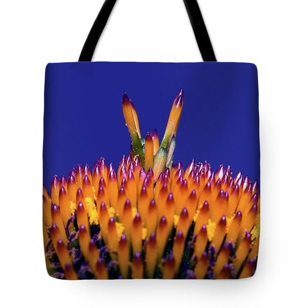 Coneflower Study Tote Bag by Betty LaRue