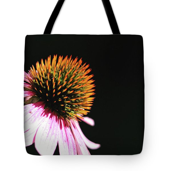 Tote Bag featuring the photograph Coneflower by Trina Ansel