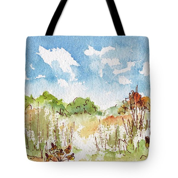 Coneflowers On The Prairie Tote Bag