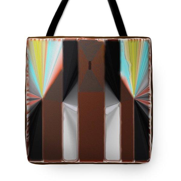 Cones Of Light Tote Bag
