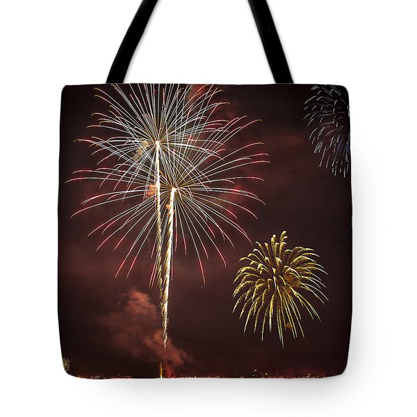 Conesus Ring Of Fire 2015 Tote Bag