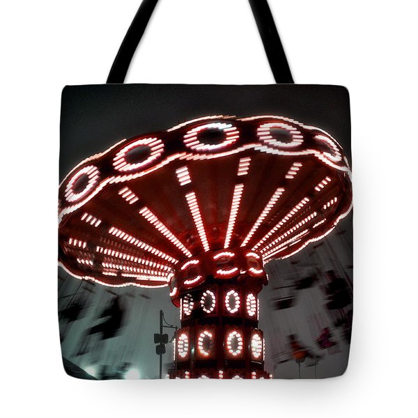 Coney Island Fog Tote Bag