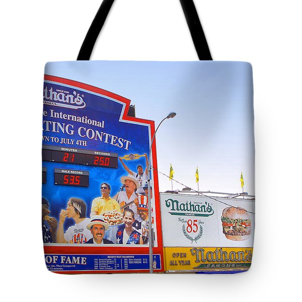 Coney Island Memories 10 Tote Bag by Madeline Ellis