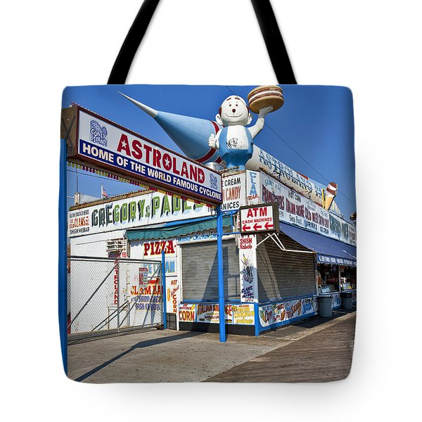 Coney Island Memories 11 Tote Bag by Madeline Ellis