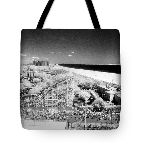 Coney Island View 7 Tote Bag