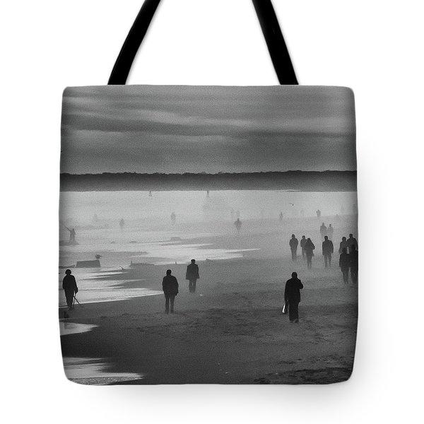 Coney Island Walkers Tote Bag