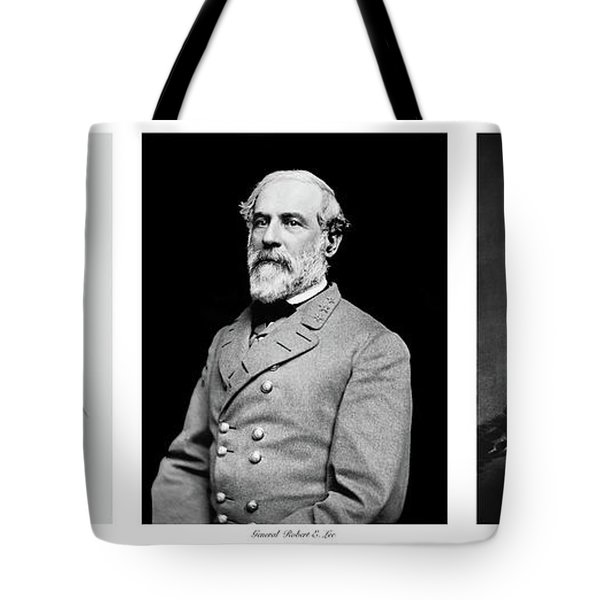 Tote Bag featuring the photograph Confederarte Triptych by Paul W Faust - Impressions of Light