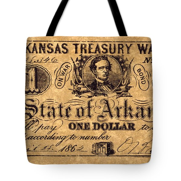 Confederate Banknote Tote Bag by Granger