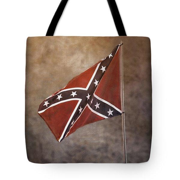 Confederate Battle Flag Tote Bag