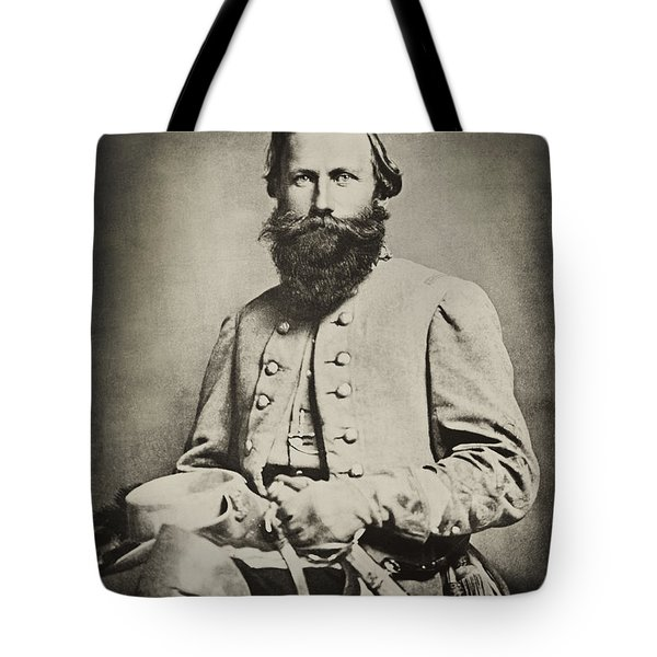 Confederate Jeb Stuart Tote Bag by Paul W Faust -  Impressions of Light