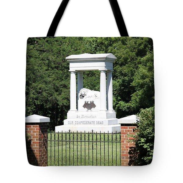 Confederate Memorial State Historic Park Tote Bag