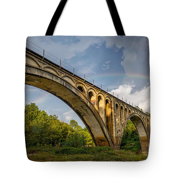 Confederate Rainbow At Bovina Tote Bag