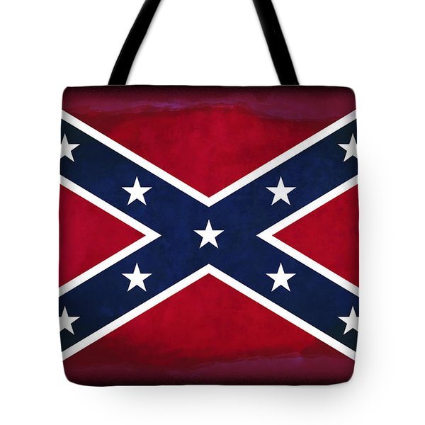 Confederate Rebel Battle Flag Tote Bag