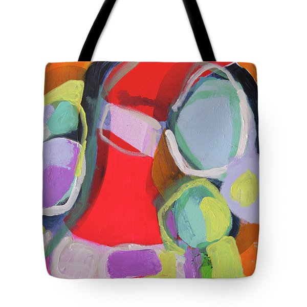 Conference Call Tote Bag