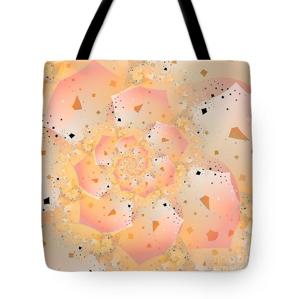 Tote Bag featuring the digital art Confetti Pastel by Michelle H