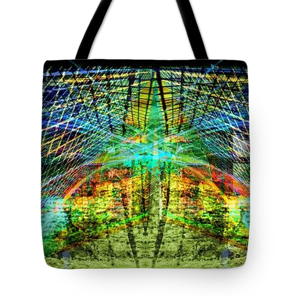 Tote Bag featuring the digital art Confidence.. by Art Di