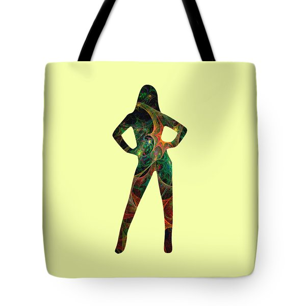 Confident Tote Bag by Anastasiya Malakhova