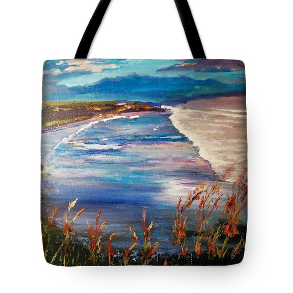 Conflict Of Colors Tote Bag
