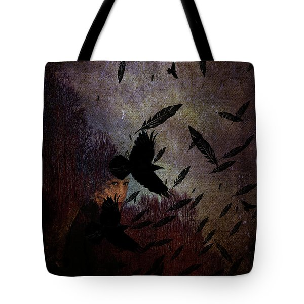 Conflict Of The Crows Tote Bag