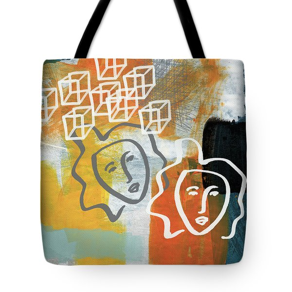 Conflicting Emotions Tote Bag