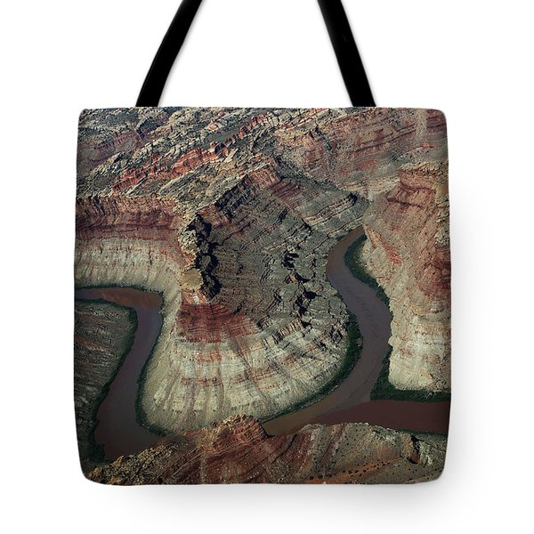 Confluence Of The Green And Colorado Rivers Tote Bag