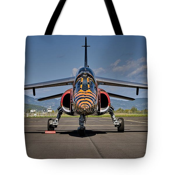 Confrontation Tote Bag